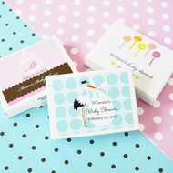 Personalized Baby Shower Gum Boxes