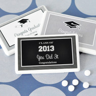 Graduation Personalized Mini Mint Favors