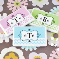 Mod Monogram Personalized Mini Mint Favors