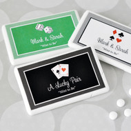 Vegas Themed Personalized Mini Mint Favors