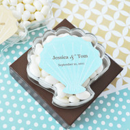 Seashell Personalized Acrylic Favor Containers