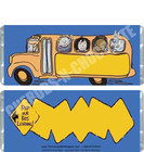 Bus Candy Wrappers