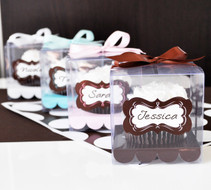 Sweet Sixteen Cupcake Favor Containers
