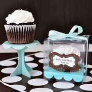 Personalized Wedding Cupcake Favor Containers