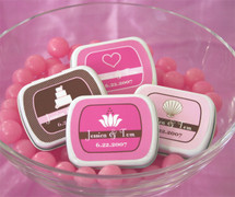 Theme Personalized Mint Tins