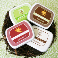 Fall in Love Personalized Mint Tins