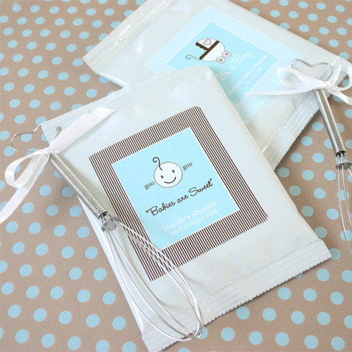 Babies are Sweet Personalized Hot Cocoa Favors