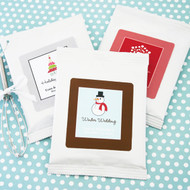 A Winter Holiday Hot Cocoa Favors