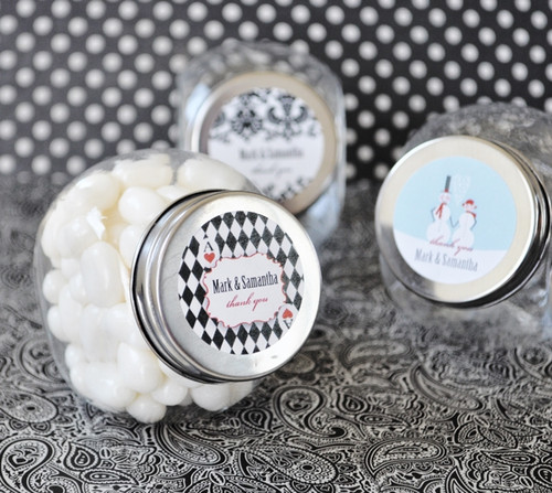 Elite Design Personalized Candy Jar Favors