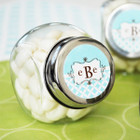 Mod Monogram Candy Jar Favors