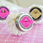 Personalized Birthday Candy Jars
