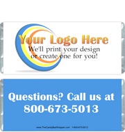 Custom Company Logo Candy Wrappers