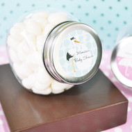 Baby Shower Personalized Candy Jars