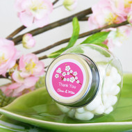 Cherry Blossom Candy Jar Favors