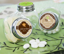 Personalized Fall Candy Jars
