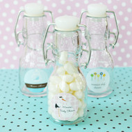 Elite Baby Shower Mini Glass Bottles