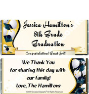 Graduation 7 Personalized Graduation Candy Bars