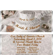 Wedding Collage Candy Bars Sample