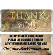 Thank You Candy Bars Sample