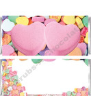 Conversation Hearts Candy Bars