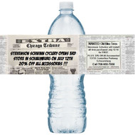 Headliner Water Bottle Labels