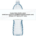 Custom Design Water Bottle Labels