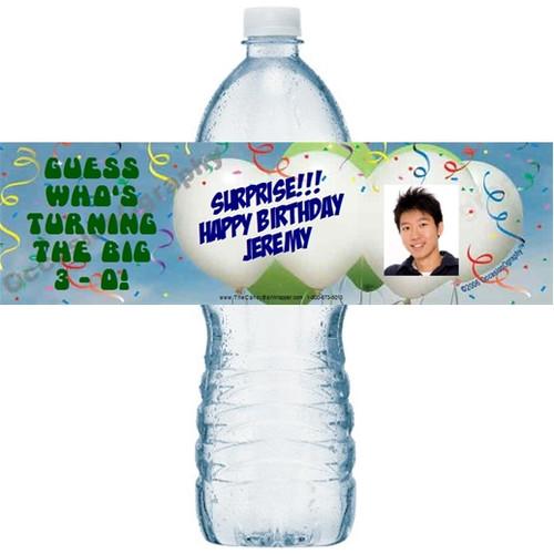 Party Time Bottle Labels