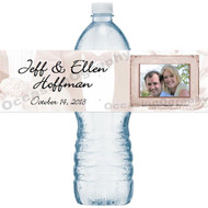Classic Wedding Water Bottle Labels