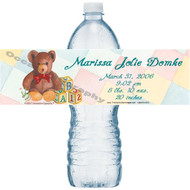 Precious Baby Water Bottle Labels