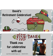 Fishing Retirement Candy Wrappers