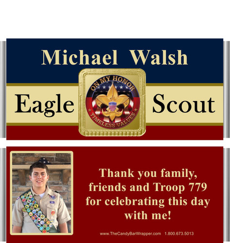 Eagle Scout Candy Wrappers