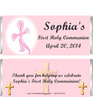 First Holy Communion Candy Bars