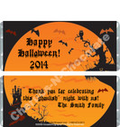 Halloween Moon Candy Wrappers