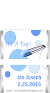 It's A Boy Mini Candy Bars