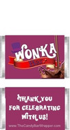 Willy Wonka Mini Candy Bars