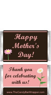 Mini Happy Mother's Day Candy Bars