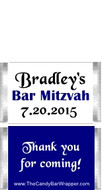 Mini Bar Mitzvah Candy Bars