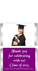 Mini Graduation with Photo Candy Bars