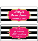 Bridal Shower Chocolate Bar Wrappers