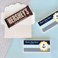 Nautical Baby Shower Candy Bar Covers