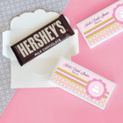 Pink Cake Candy Bar Covers