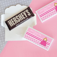 Princess Party Candy Bar Covers