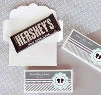 Gender Reveal Candy Bar Covers