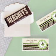 Green Baby Shower Candy Bar Covers
