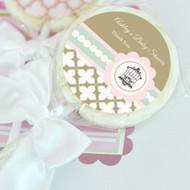 Birdcage Party Personalized Lollipop Favors