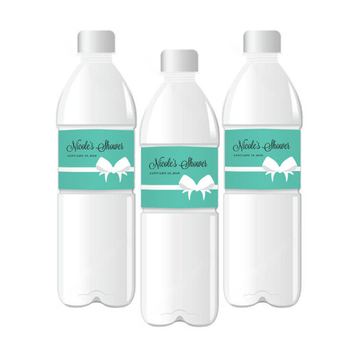 Bride & Co. Personalized Water Bottle Labels