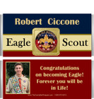 Eagle Scout Candy Bar Wrappers