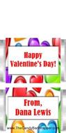 Mini Valentine Chocolate Candy Bar