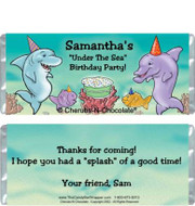 Ocean Party Candy Wrapper Sample