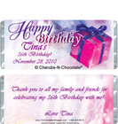 Birthday Bliss Candy Wrapper Sample